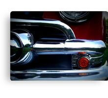 Classic Car in Red Canvas Print