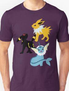 Jolteon, Umbreon, and Vaporeon T-Shirt