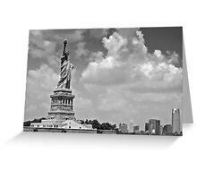 Patron of Liberty Greeting Card
