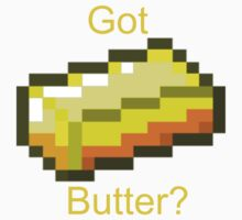 Minecraft Butter by bobattackman