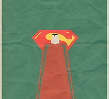 Minimal Superman by Tommy Brown