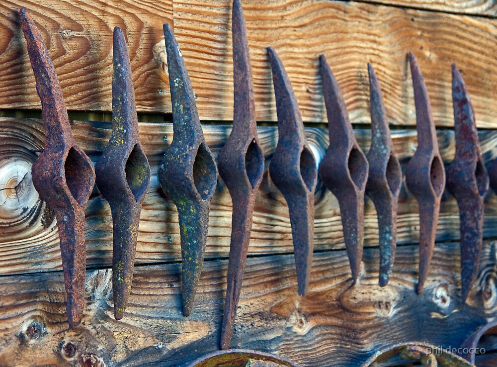 Pick Ax Heads by phil decocco