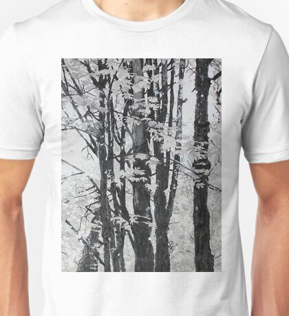 Specks of Light, mixed media on canvas Unisex T-Shirt