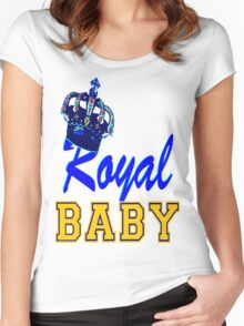§♥Royal Crowned Baby Fantabulous Clothing & Stickers♥§ Women's Fitted Scoop T-Shirt