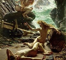 The Cave of the Storm Nymphs by Bridgeman Art Library