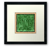 gaia green, spirit of nature Framed Print