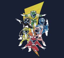 Morphin' Force by rollbiwan