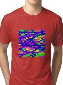 Pixel Noise Tri-blend T-Shirt