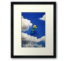 Extreme sports - Skydiving. Framed Print