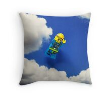 Extreme sports - Skydiving. Throw Pillow