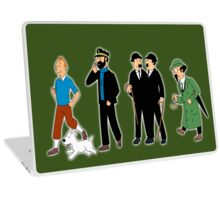 tintin Laptop Skin