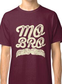 MOVEMBER - Mo Bro White Classic T-Shirt