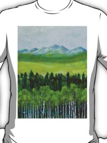The abstract in Nature, acrylic on canvas T-Shirt
