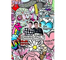 DAN AND PHIL Photographic Print