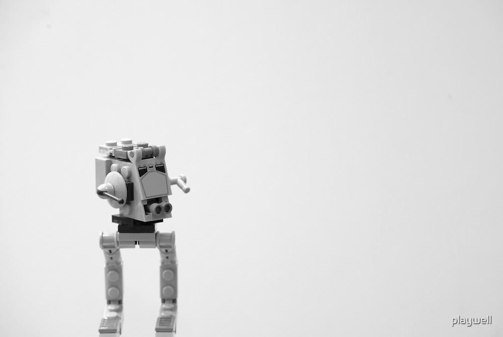 The Lonely AT-ST by playwell