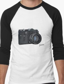Classic Russian camera Men's Baseball ¾ T-Shirt