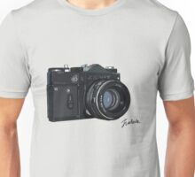 Classic Russian camera Unisex T-Shirt