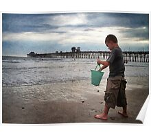 Beach Discoveries Poster