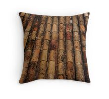 Aged Throw Pillow