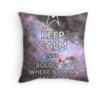Keep Calm and Star Trek I Throw Pillow