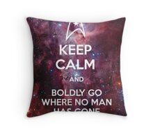 Keep Calm and Star Trek II Throw Pillow