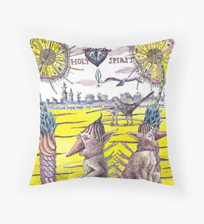 Voyage of the Spirit Throw Pillow