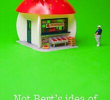Not Bert's idea of a treat! by Tim Constable