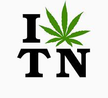 I Love Tennessee Marijuana Cannabis Weed T-Shirt Unisex T-Shirt