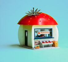 The Strawberry kiosk by Tim Constable