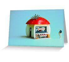 The Strawberry kiosk Greeting Card