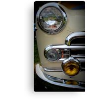 Buick Business Coupe in Cream Canvas Print