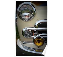Buick Business Coupe in Cream Poster