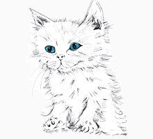 Green Eyed Kitten Unisex T-Shirt