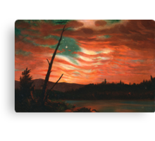 Our Banner in the Sky Canvas Print