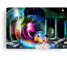 Way Station in the Multiverse Canvas Print