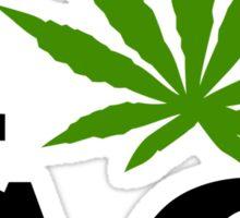 I Love South Carolina Marijuana Cannabis Weed T-Shirt Sticker