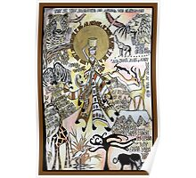 African Dada Doll Poster