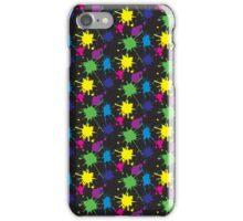 Paint splatter iPhone Case/Skin
