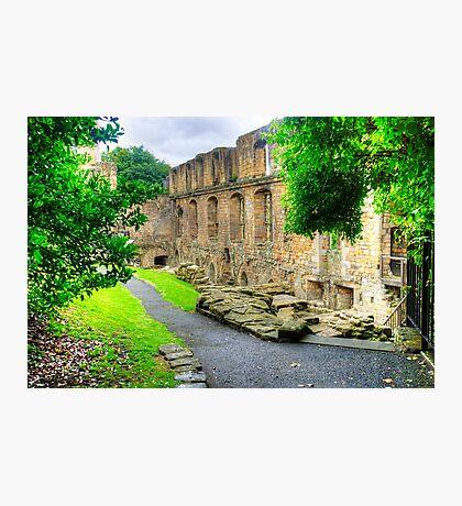 Dunfermline Palace Photographic Print