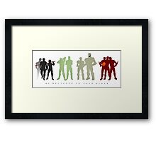 We Believed In Each Other Framed Print