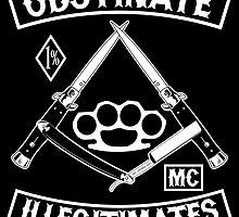 Obstinate Illegitimates by Adam Holland