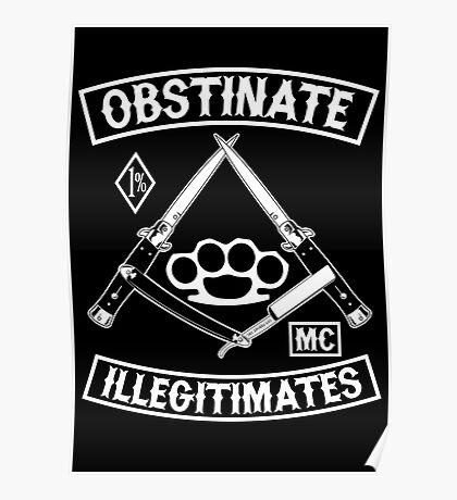Obstinate Illegitimates Poster