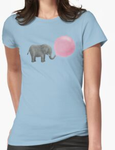 Jumbo Bubble Gum Womens Fitted T-Shirt
