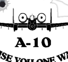 A-10 Warthog Bullets Sticker