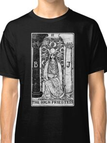 The High Priestess Tarot Card - Major Arcana - fortune telling - occult Classic T-Shirt
