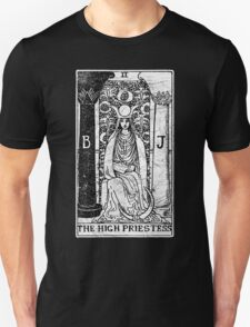 The High Priestess Tarot Card - Major Arcana - fortune telling - occult Unisex T-Shirt