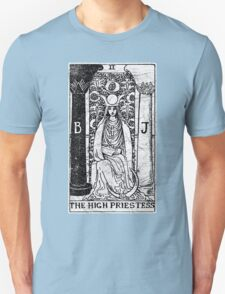 The High Priestess Tarot Card - Major Arcana - fortune telling - occult T-Shirt