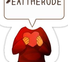 Eat The Rude Sticker