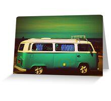 VW Camper Greeting Card