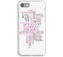ICH NSN: Typography iPhone Case/Skin